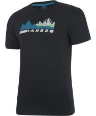 Dare2b Мужская городская сцена черная футболка