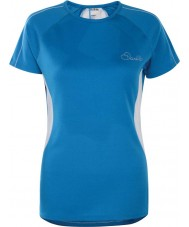 Dare2b DWT336-5NN12L Женская реформа метил-синий футболка - размер UK 12 (м)