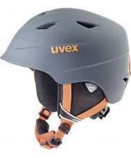 Uvex 5661325803 Airwing про титан оранжевый лыжный шлем - 52-54cm