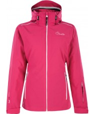 Dare2b DWP305-1Z006L Дамы нагуляться электрический розовый лыжная куртка - размер Великобритании 6 (XXS)