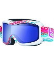 Bolle 20940 Монарх белый алмаз - полярное синие лыжные очки