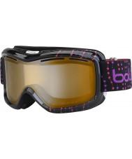 Bolle 21062 Monarch черные розовые шарики - модулятор цитруса пистолет лыжные очки