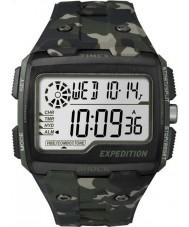 Timex TW4B02900 Mens экспедиция цифровой шок цвета хаки Camo хроно часы