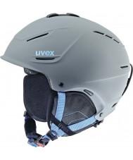 Uvex 5661535407 P1us серый синий лыжный шлем - 59-62cm