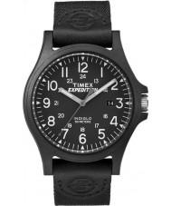Timex TW4B08100 Мужские экспедиции черный ремешок из ткани часы